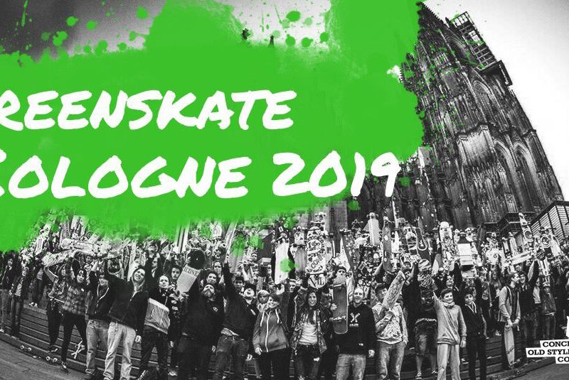 Köln Greenskate 100% Regen=100% Skaten